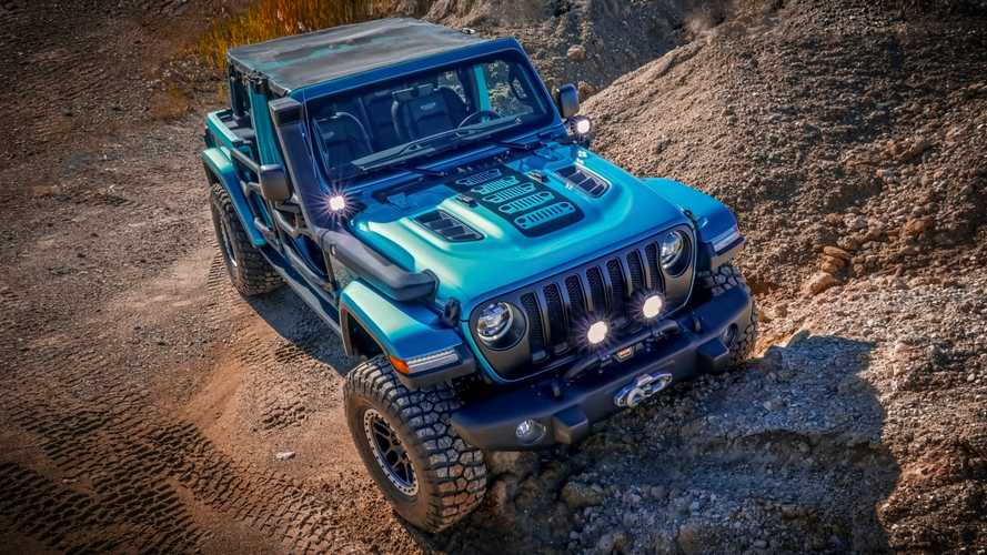 2019 Jeep Wrangler concept by Mopar for SEMA