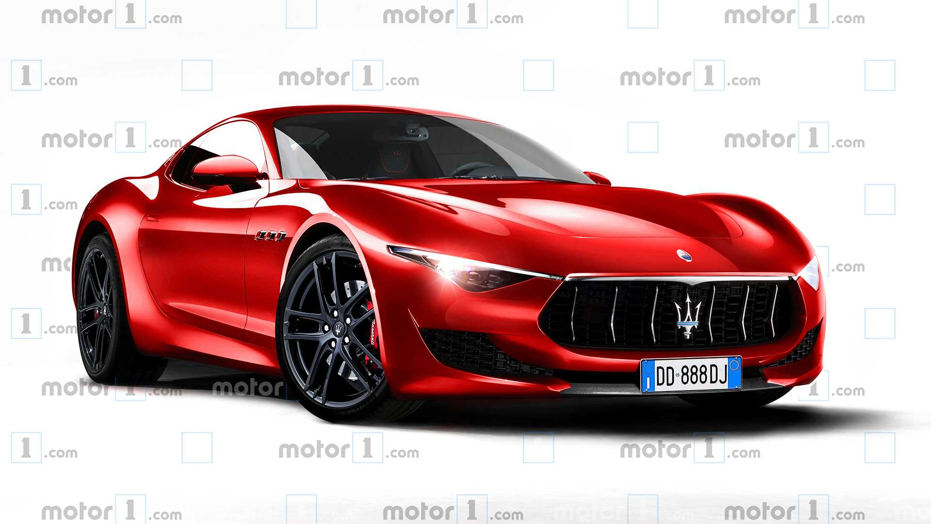 Maserati Alfieri Rendered With Concept Cues Ahead Of 5 Launch