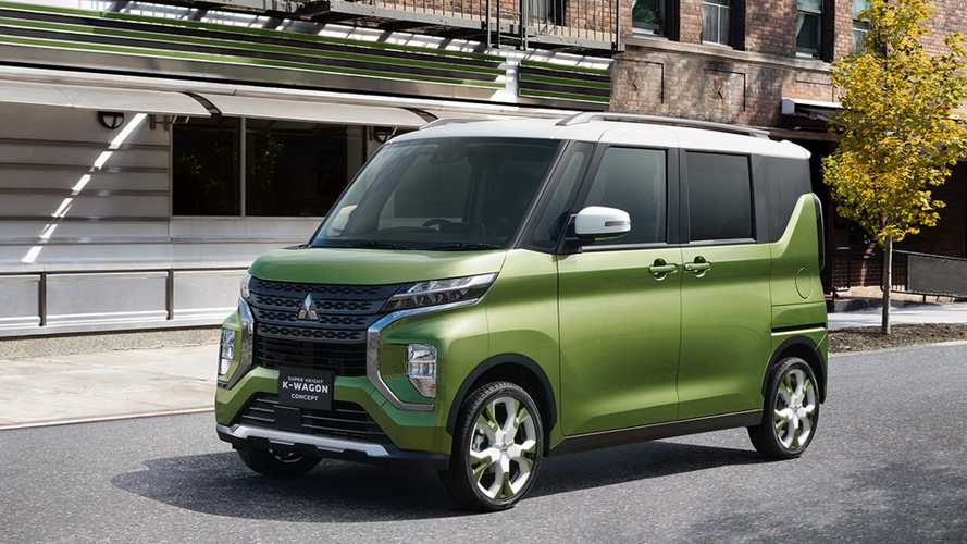 Mitsubishi Super Height K-Wagon Concept