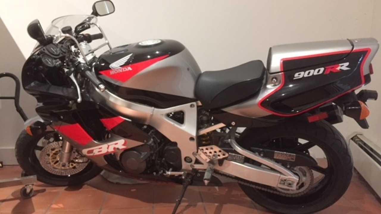 The Honda CBR
