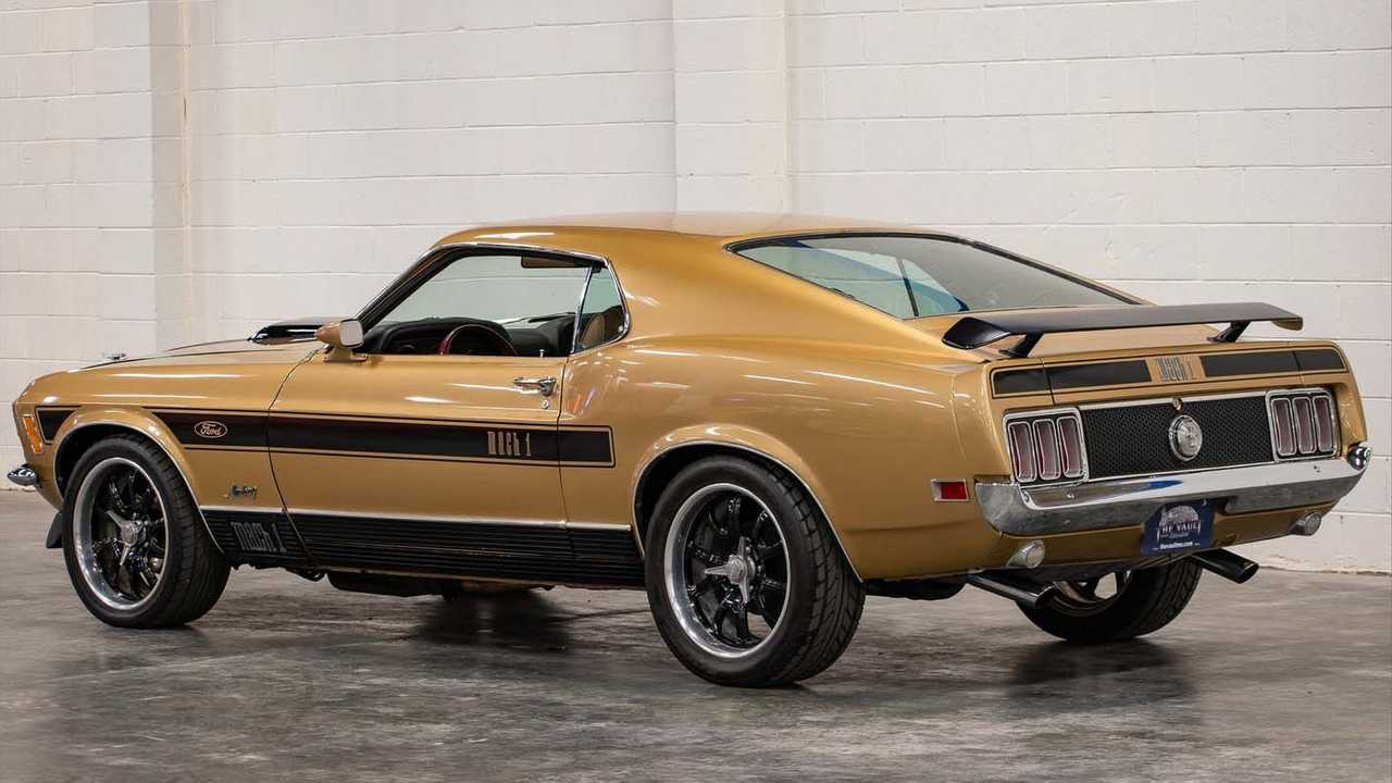 1970 Ford Mustang Mach 1 Is The Real Deal