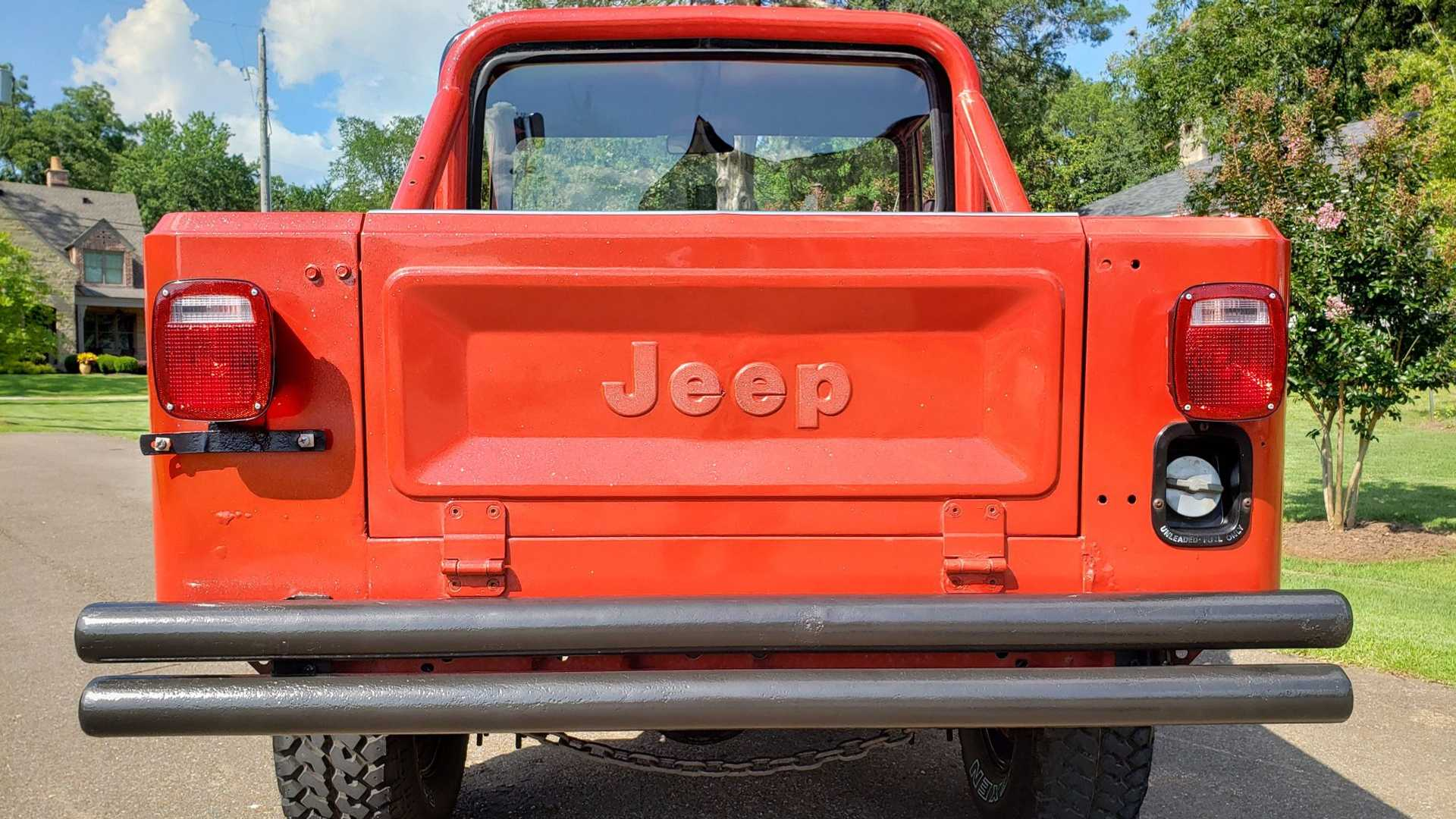 """[""""Go Anywhere In This Updated 1982 Jeep CJ-8""""]"""