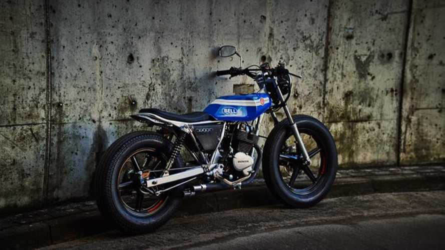 This Unlikely Honda CB250 Flat Tracker Build Will Blow Your Mind