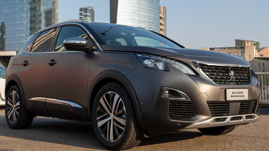 Peugeot 3008, l'Anniversary ne celebra il successo