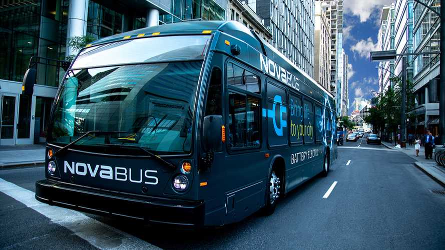 Nova Bus Is Introducing LFSe+ With 594 kWh Battery Pack