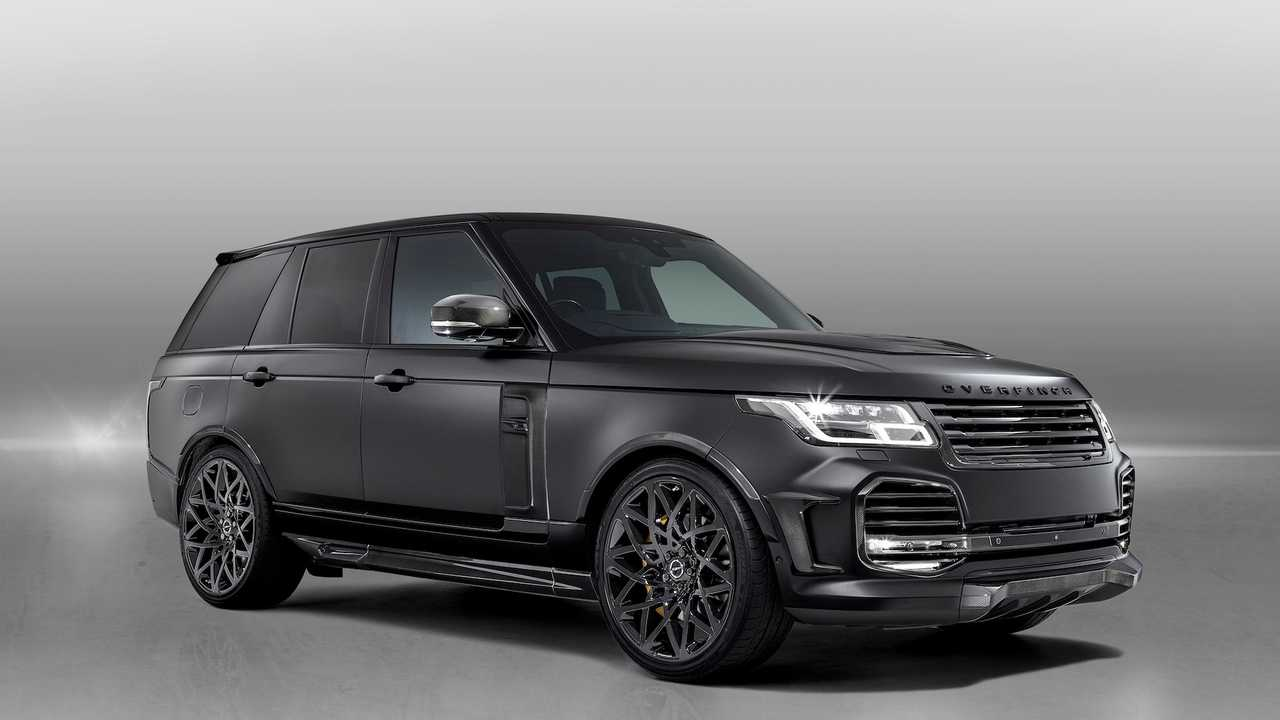 Overfinch Velocity Is An Opulent $315,000 Range Rover