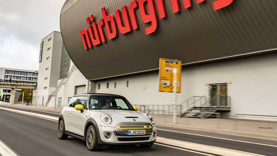 MINI Electric at the Nürburgring