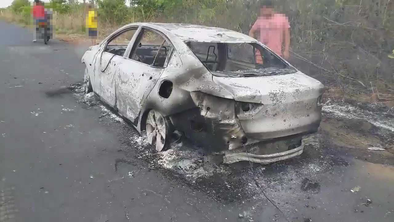 Chevrolet Onix Plus - Incêndio