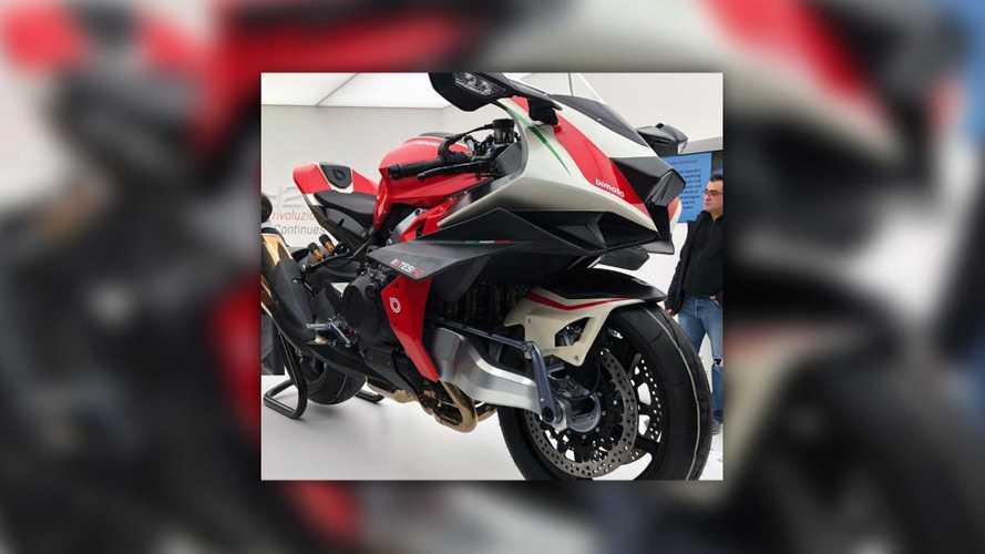 Bonkers Kawasaki-Powered Bimota Tesi H2 Shown Off At EICMA 2019