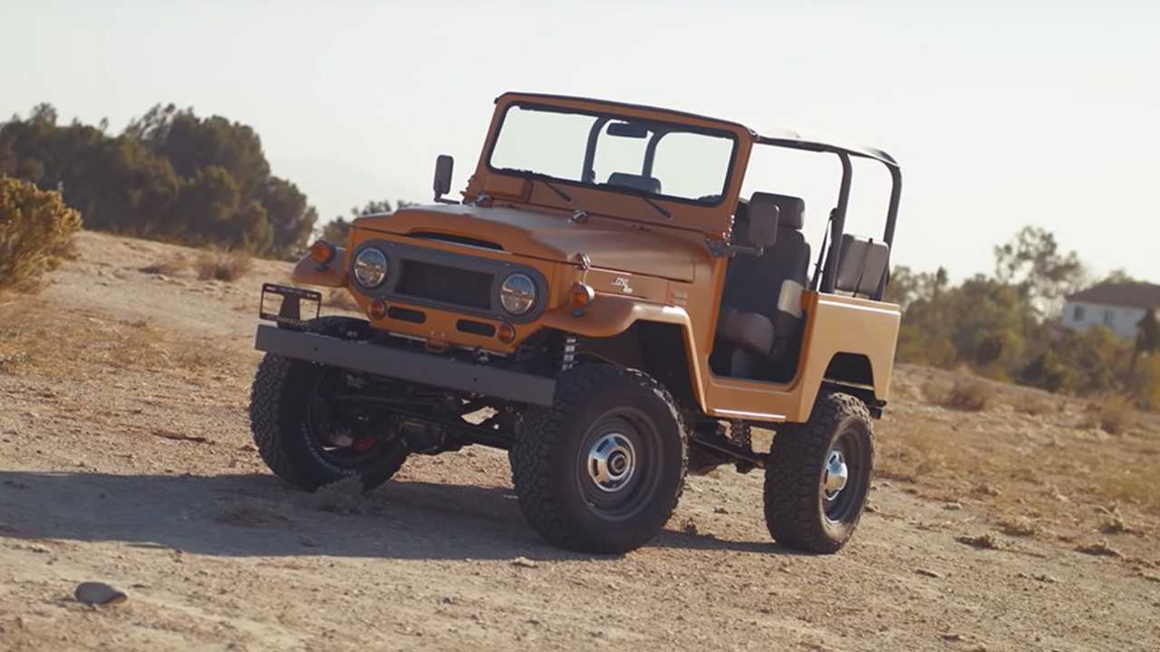 ICON FJ40 Roadster Celebrates Simplicity