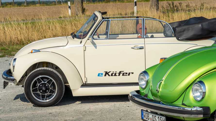 Volkwagen Offers Complete Electric Drive For Classic Beetles