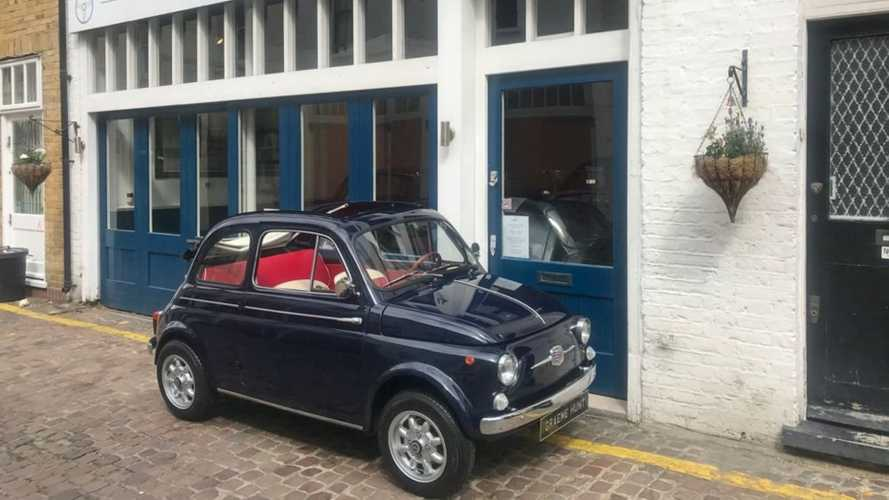 Restored 1964 Fiat 500D Nuova Trasformabile Packs Upgrades
