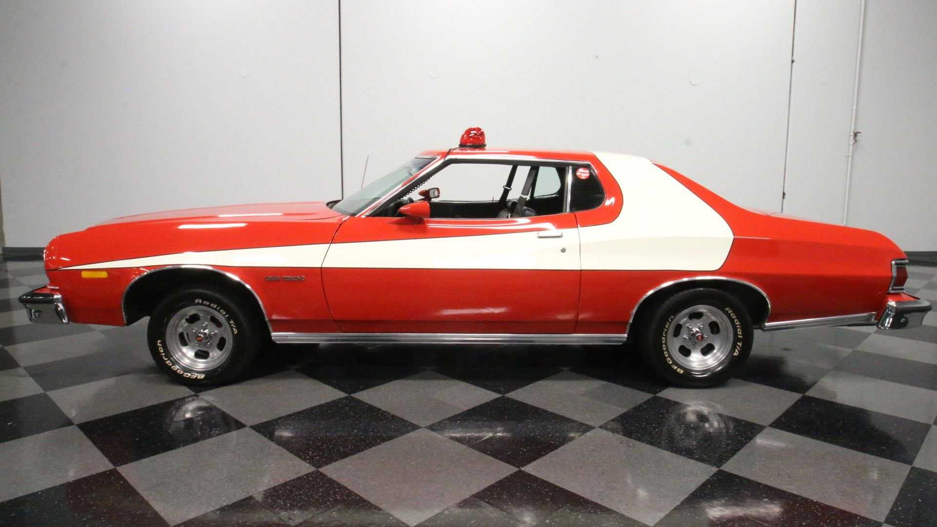 Hit The Beat In This 'Starsky & Hutch' 1976 Ford Gran Torino