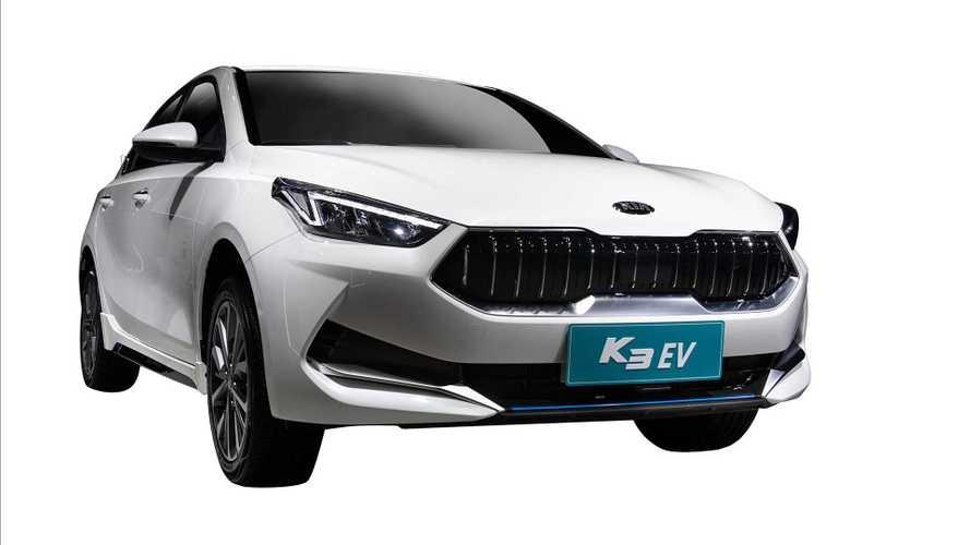 Kia Unveils New K3 EV At The Guangzhou Motor Show