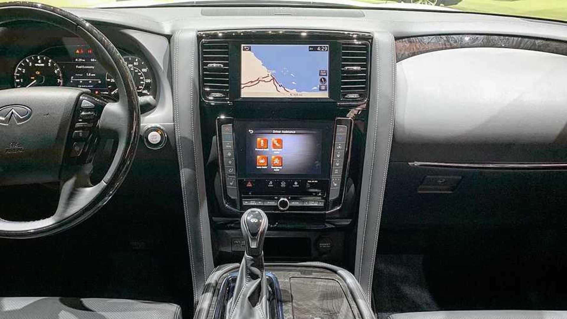Here S The 2020 Infiniti Qx80 S Updated Interior