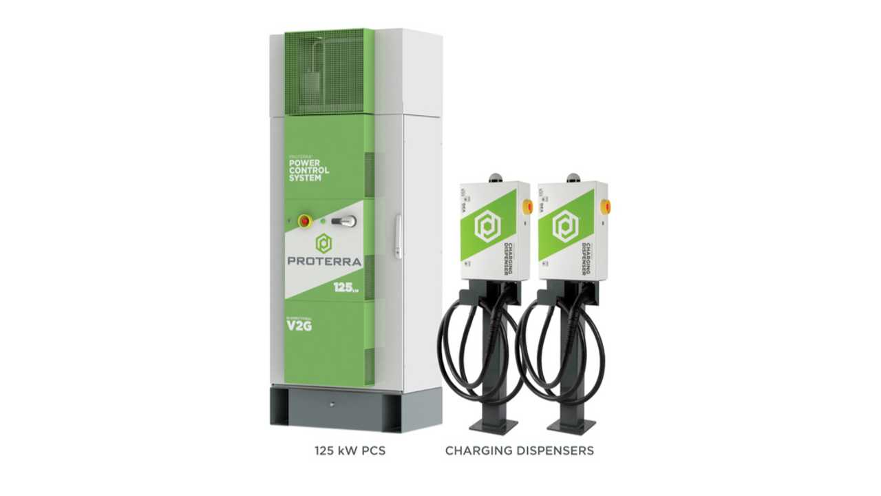 Proterra charging station