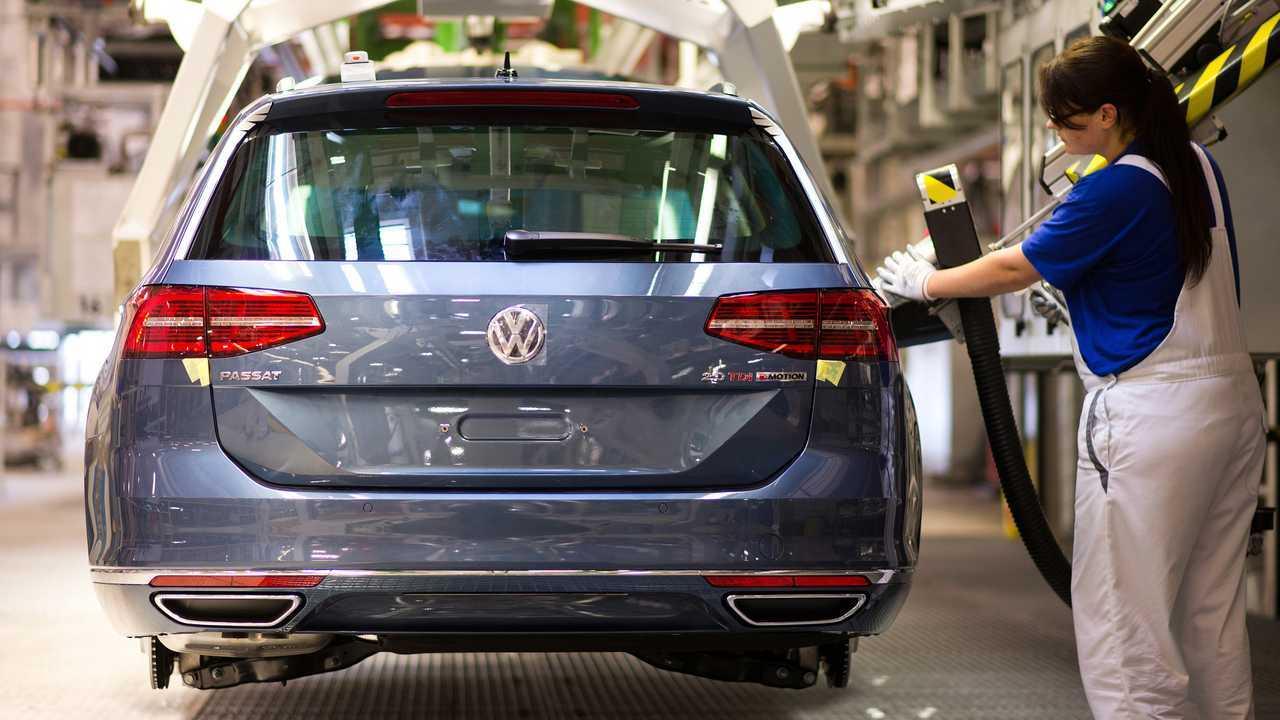 VW Passat production in Emden Germany