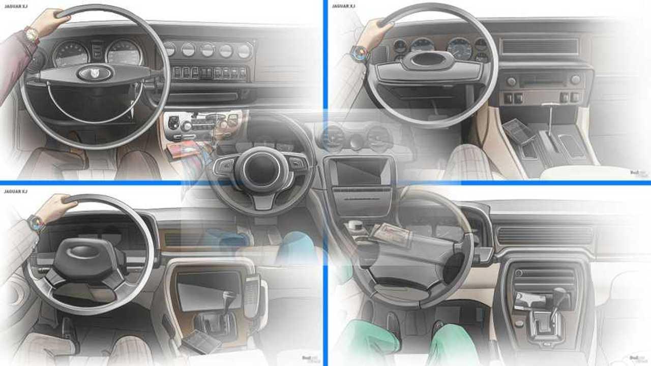 Jaguar XJ Interior Lead