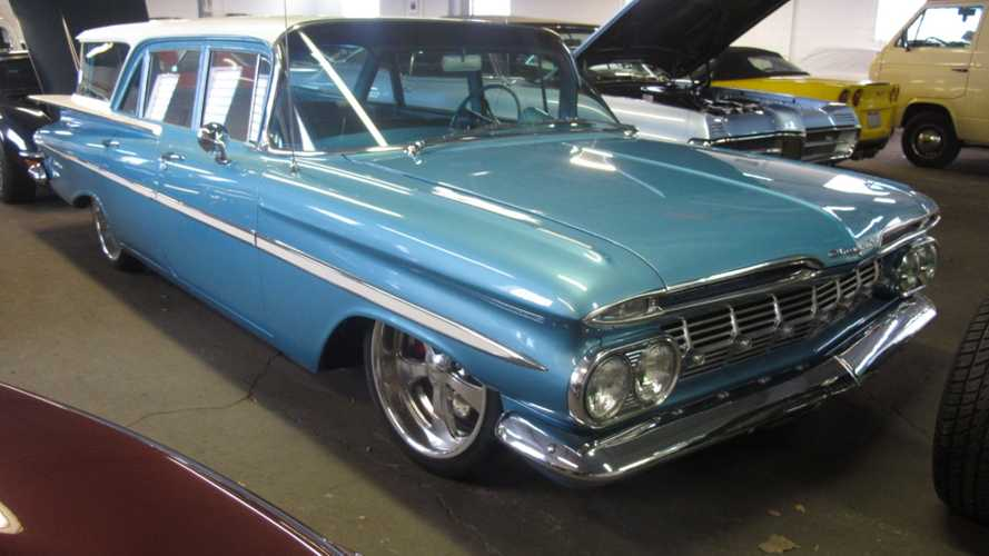 1959 Chevy Brookwood Wagon Boasts Professional Restoration