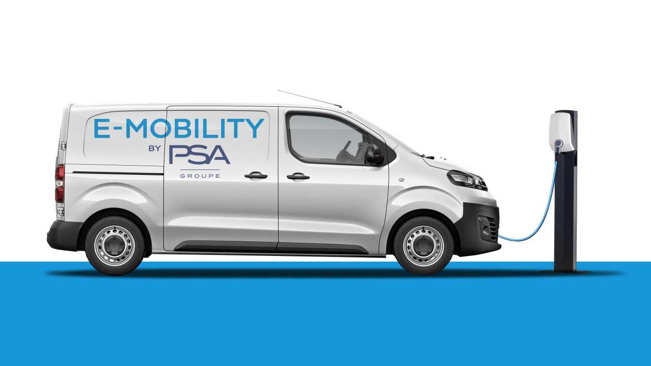 Groupe PSA to launch all-electric versions of its compact van range from 2020