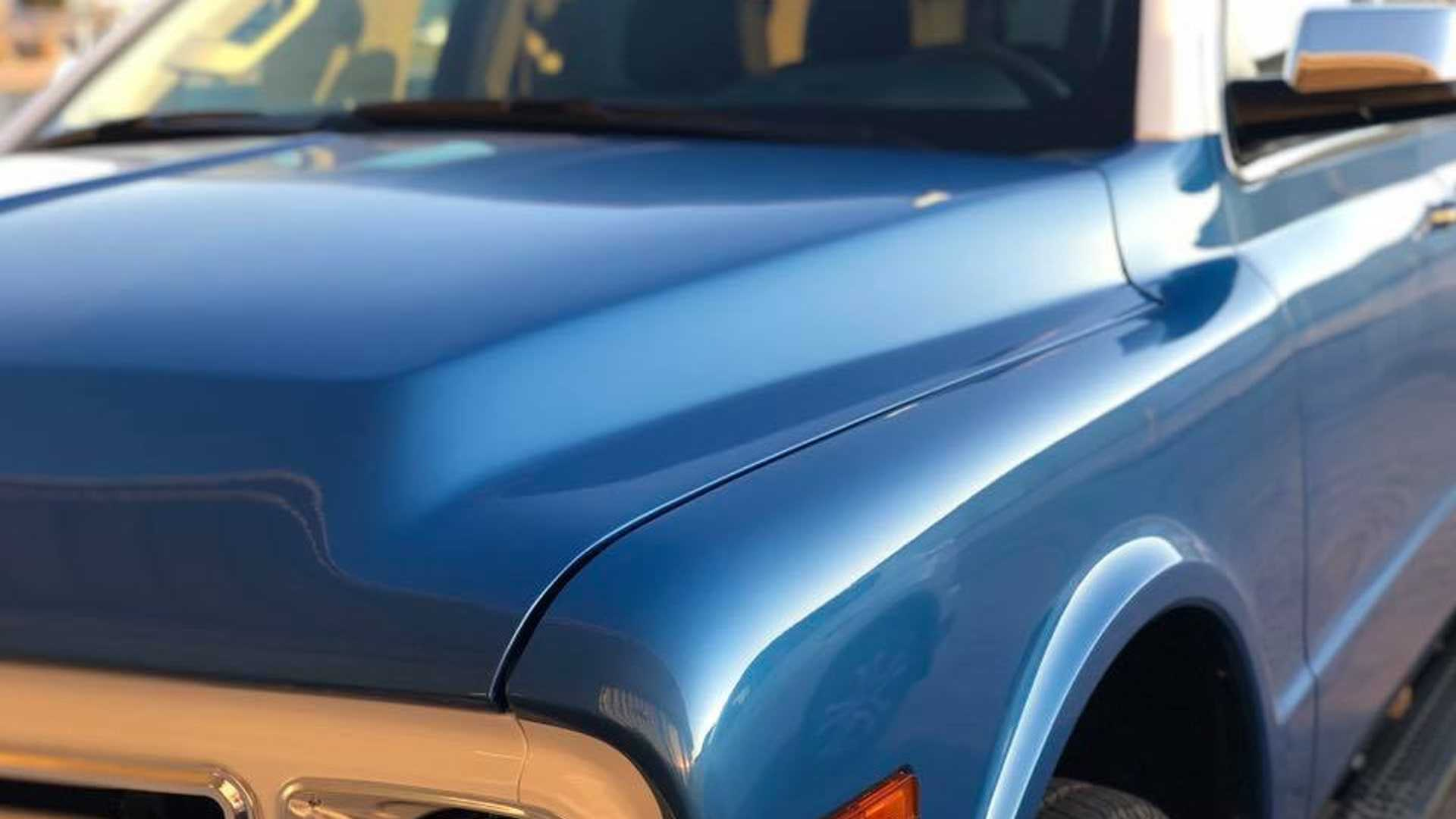 "[""New Chevy Tahoe Transformed Into Classic Blazer For SEMA""]"