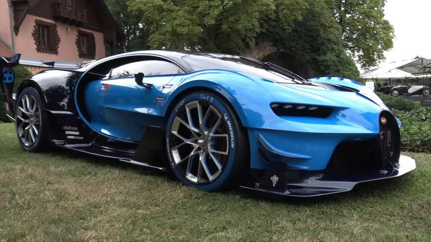 One-Off Bugatti Vision GT Dissected On Video