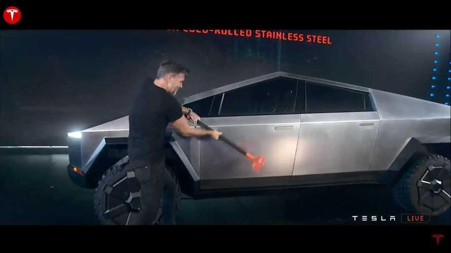 Tesla Cybertruck Pickup Truck Debut