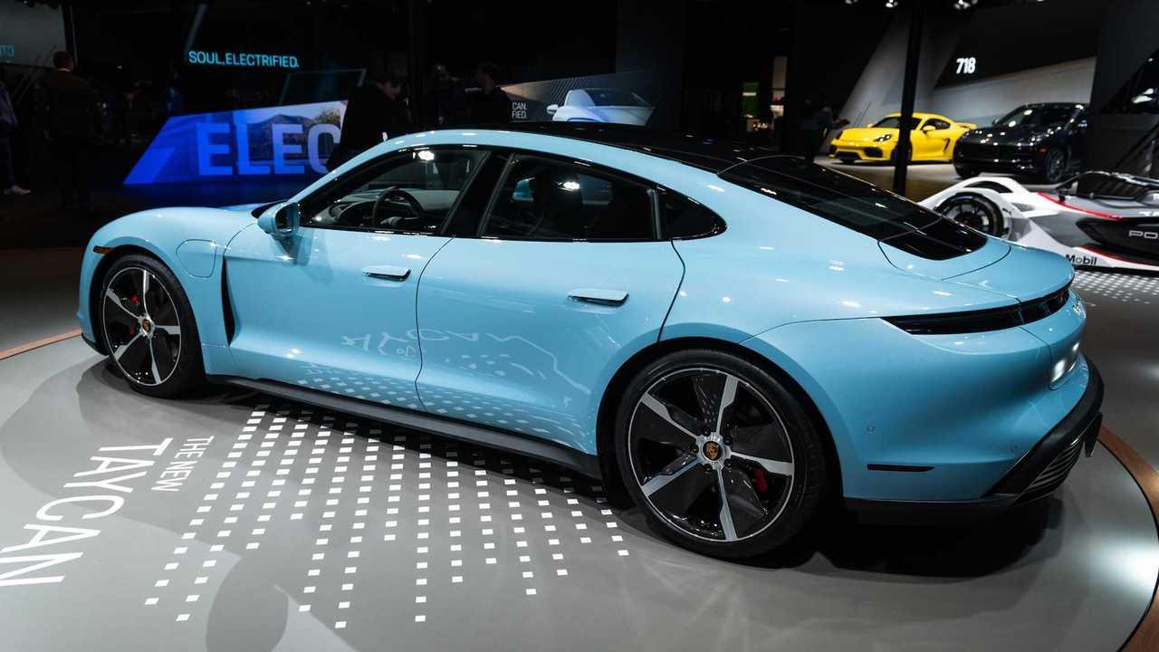 Porsche Taycan 4s E A Versao De Entrada Do Eletrico No Brasil Em 2020