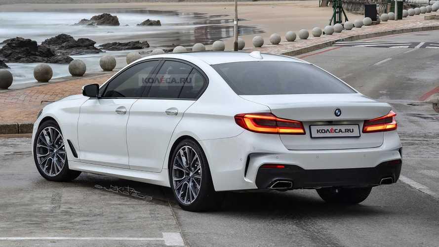 BMW 5 Series Rendering