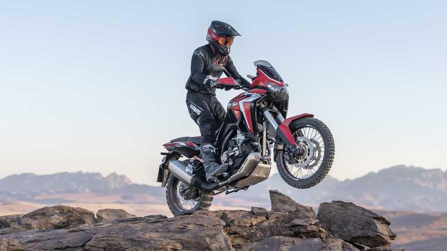 Nova Honda CRF1100L Africa Twin 2020 é revelada oficialmente