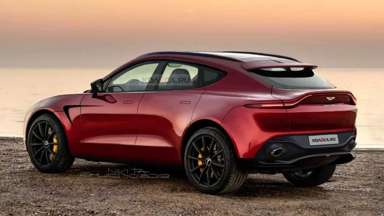 2020 Aston Martin Dbx Loses All The Camo In New Renderings