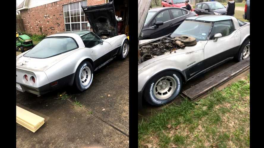 Millennial Saves 1982 Chevrolet Corvette From Decade Of Neglect