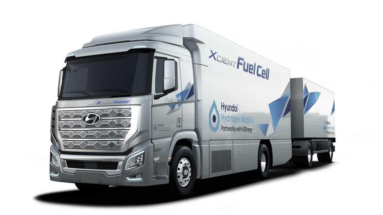 Hyundai H2 Xcient (Brennstoffzellen-LKW)