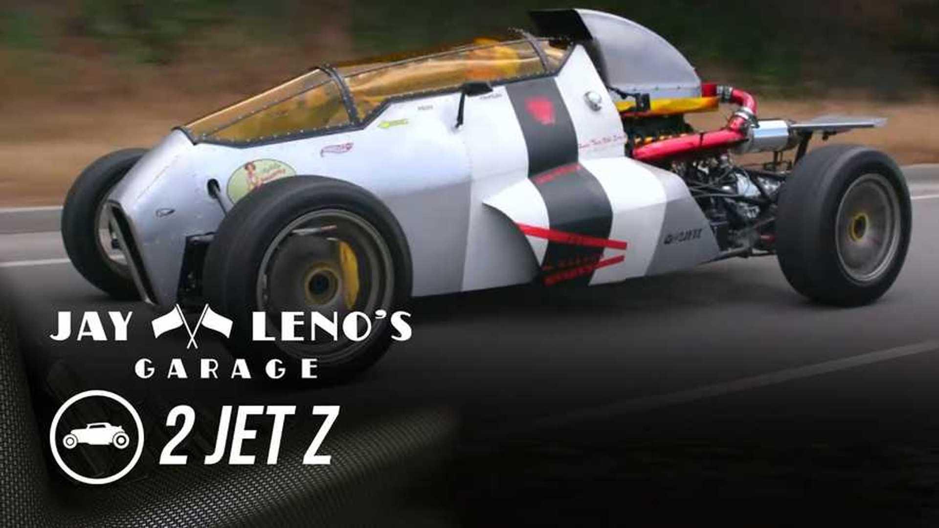 Watch Jay Leno Drive The 2 Jet Z Fighter Plane Car