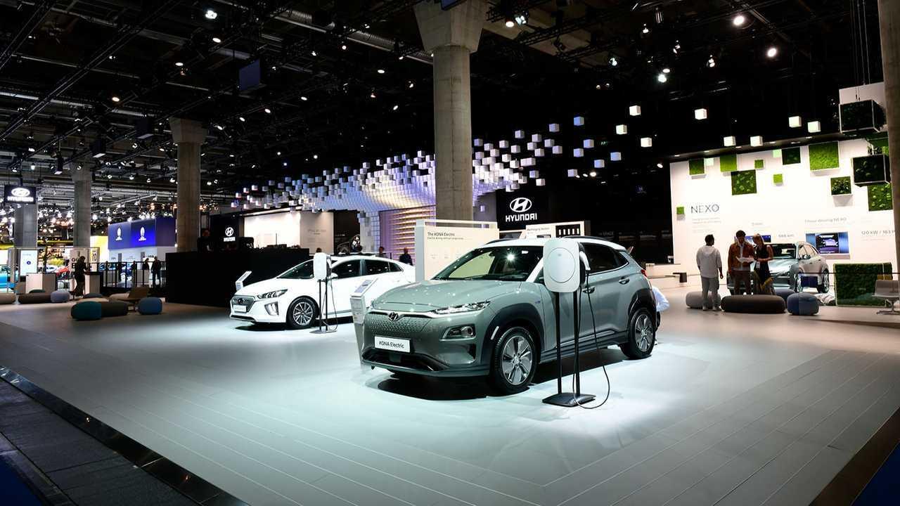 Hyundai Kona Electric at the 2019 Frankfurt Motor Show