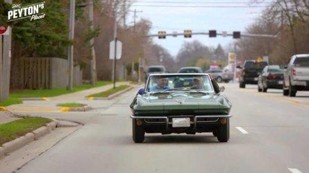 Watch brett favre drive peyton manning in a c2 corvette