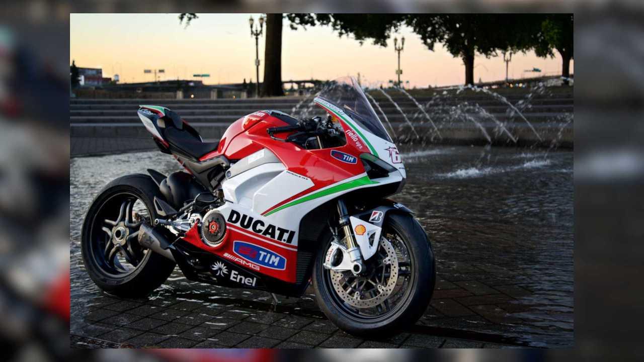 Nicky Hayden Tribute 2019 Ducati Panigale V4 By MotoCorsa