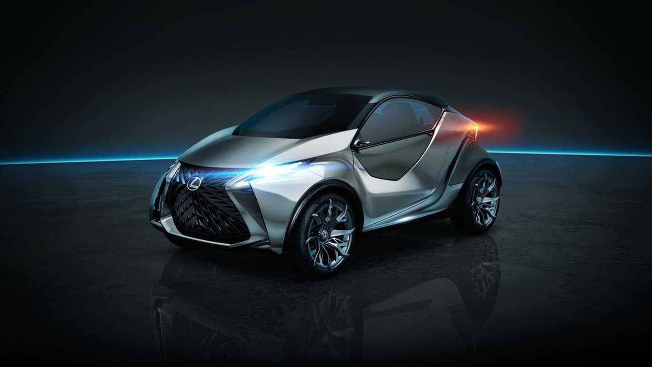 Small Fully Electric Lexus Concept To Be Shown In October