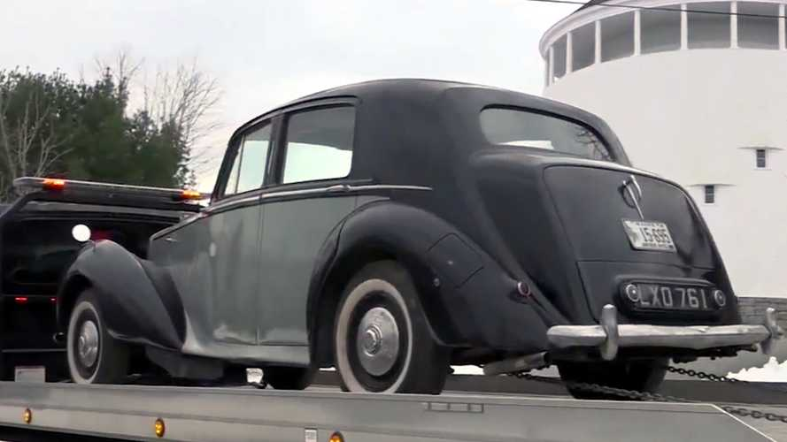 Maine Couple Reacquires 1950 Bentley 40 Years After Selling It