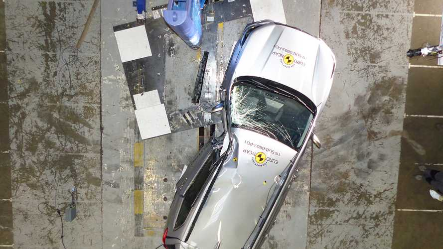 Subaru Forester Crash Test Euro NCAP 2019