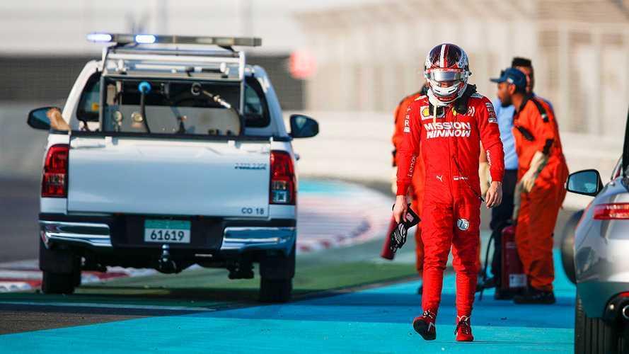"""Leclerc: """"Giornata positiva nonostante l'incidente"""""""