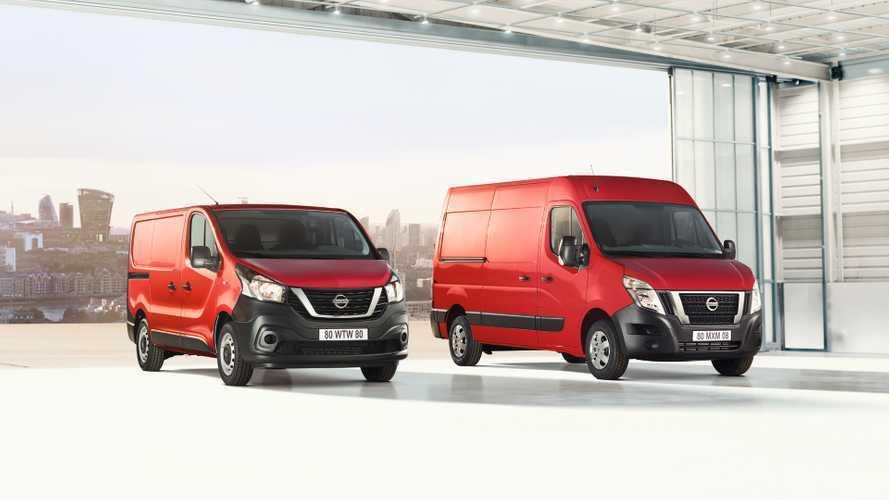Nissan rinnova i mid e large van NV300 e NV400