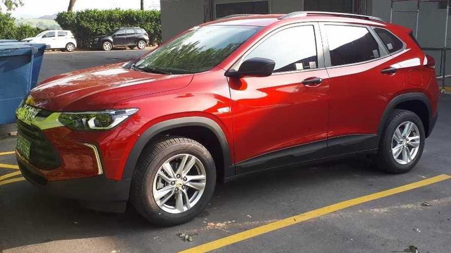 Flagra: Novo Chevrolet Tracker nacional
