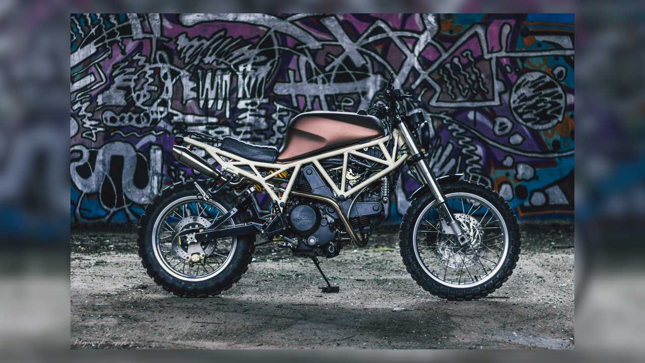 LL Motorcycles Custom Ducati 750SS Scrambler
