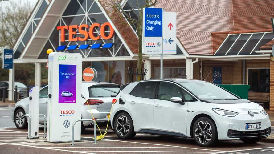 Charge your EV for free at Tesco