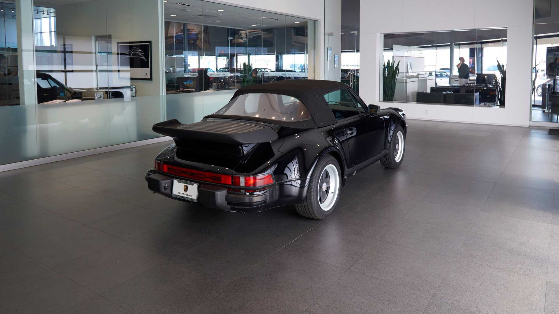 "[""Strut In A 1985 Porsche 911 Cabriolet Turbo Look""]"