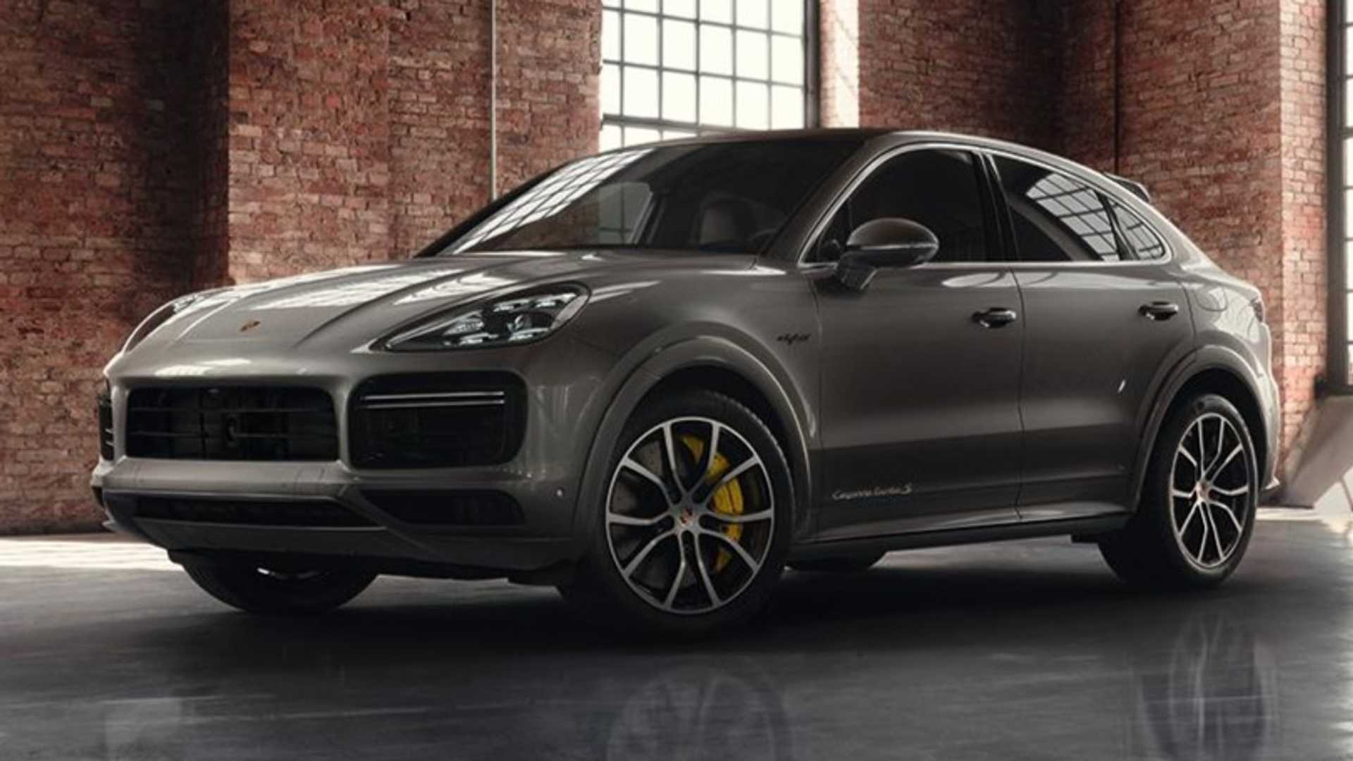 Porsche Makes Gray Look Sweet With Fancy Cayenne Coupe