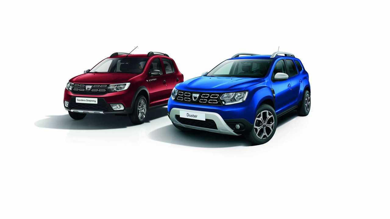 """Sondermodelle """"Anniversary"""" für Dacia Sandero Stepway und Duster"""