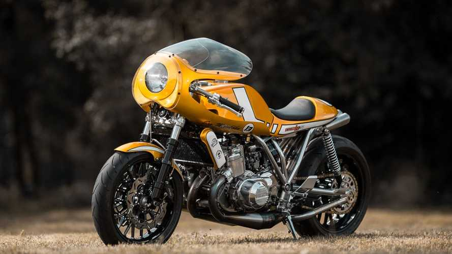 Rare Suzuki Egli Finds New Life As A Cafe Racer