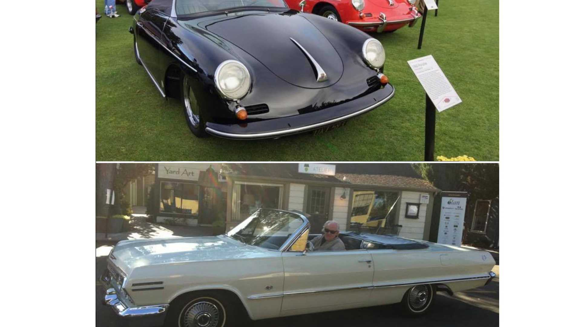 "[""Three Vintage Cars Stolen From CA Car Show""]"